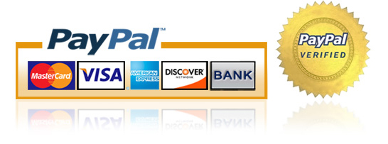 PayPal Verified & Secure