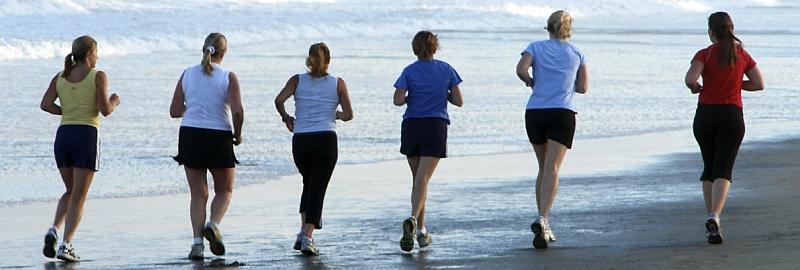 hdr beach run 8001 Avoiding Boot Camp Injuries