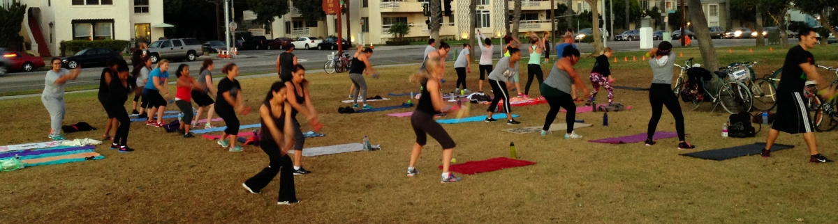 Long Beach Boot Camp Group Exercise